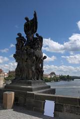 Der heilige Franz Xaver auf der Karlsbrücke
