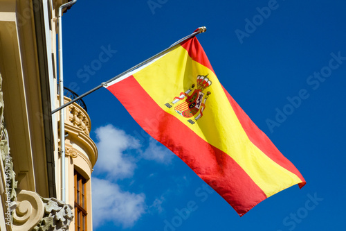 canvas print picture Spanish flag
