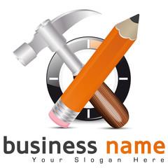 logo travaux/ bricolage
