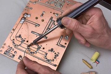 repair of circuit board