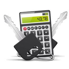vecteur, clés et calculatrice