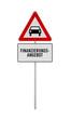 Schild mit Aufschrift »Finanzierungsangebot«