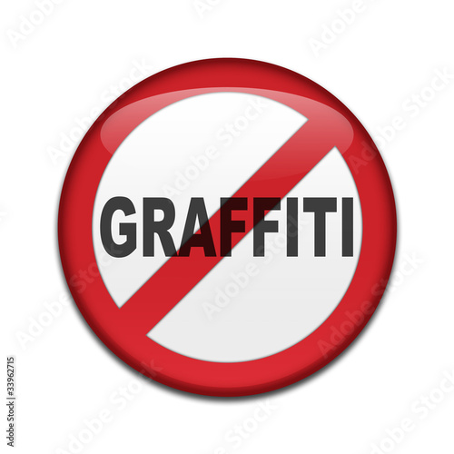 Señal prohibido GRAFFITI
