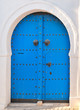 Traditional, old Tunisian front door
