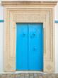 Traditional Tunisian front door