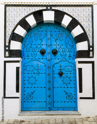 Door, Sidi Bou Said