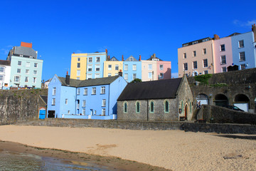 Buildings At Tenby Harbour