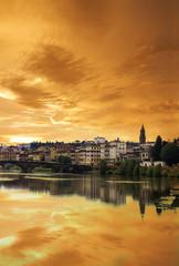 Florenz bei Sonnenaufgang