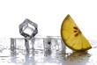 cubetti ghiaccio e limone - due