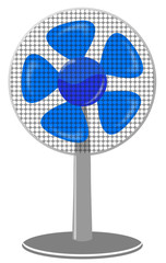 fan Blue dot Panel