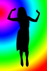 Psycodelic dancer