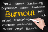 Fototapety Burnout - Concept for Business