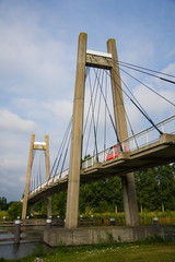 Cable Bridge in Almere