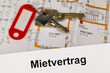 Mietvertrag in deutscher Sprache