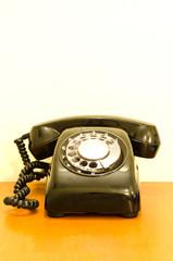 Old phones in hotel