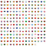 World Button Flag Mix