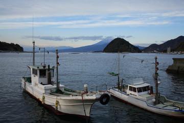 伊豆内浦漁港