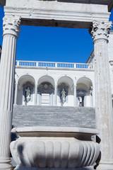 Interno monastero di Montecassino