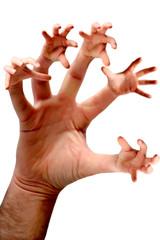 5 mani su una sola mano