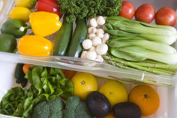 冷蔵庫の野菜室