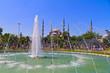 Blue Mosque, (Sultanahmet Camii), Istanbul, Turkey