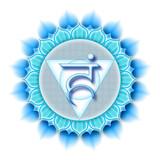 Mandala Chakra Vishuddha poster