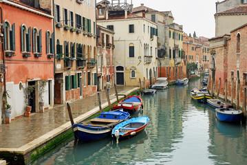 Italy,Venice rio of Mercy in Cannaregio area.