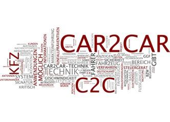 Car2Car Kommunikation