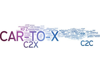 Car-to-X Kommunikation