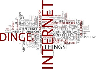 Internet der Dinge - Internet of Things