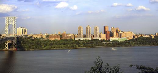 GW Bridge and Manhattan