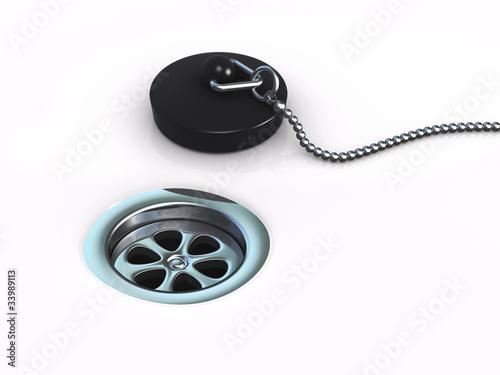 3d Plug by plug hole