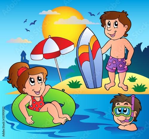 Summer theme image 1
