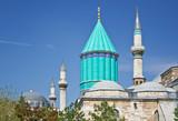 Mevlana - sacred Sufi Center in Konya poster