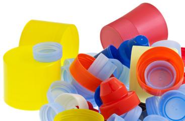 bouchon plastique, tri sélectif, recyclage