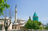Mevlana - holy place in the center of Konya poster