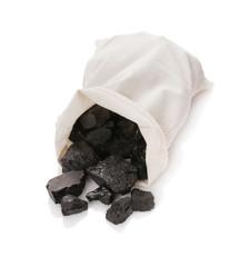 Coal in a bag
