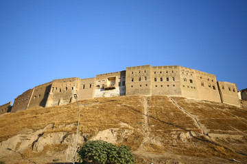 Arbil Castle in Kurdistan,Iraq