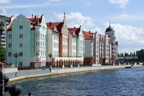 The city of Kaliningrad