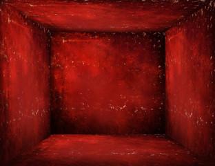Interno grunge rosso
