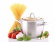 casserole, spaghetti et ingrédient
