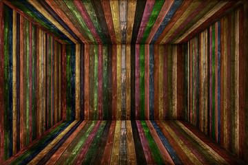 Wooden room