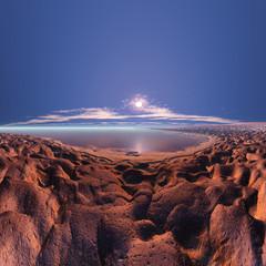 幻想の砂浜