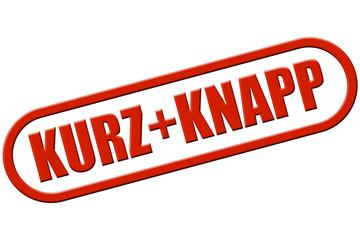 Stempel rot rel KURZ + KNAPP