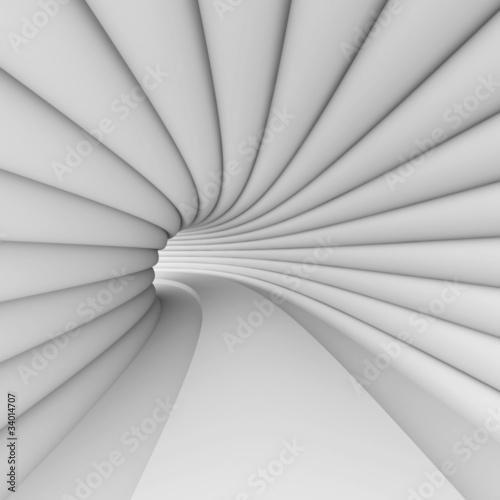 White Futuristic Architecture © Max Krasnov