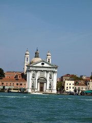 The Church of I Gesuati on the Zattere in Venice
