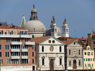 Venice - Basilica Salute seen from the Giudecca canal.