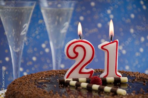 Поздравление с 21 годом рождения
