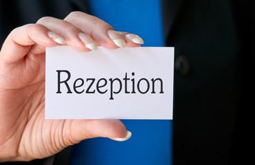 Rezeption - Hotel und Service