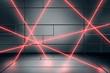 Laser Secured Room